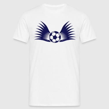 ball with wings small 1c - Camiseta hombre