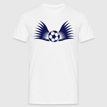ball with wings small 1c - Miesten t-paita