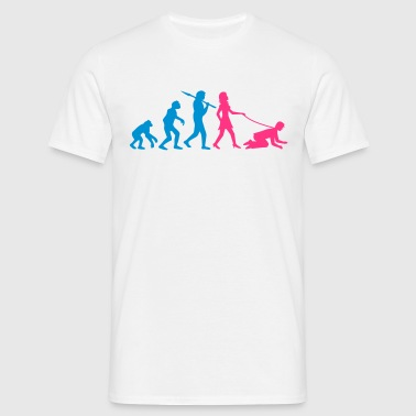 woman_evolution - Männer T-Shirt