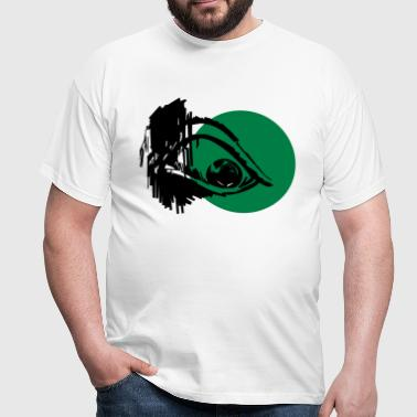 Evil Eye - Art Design - Männer T-Shirt