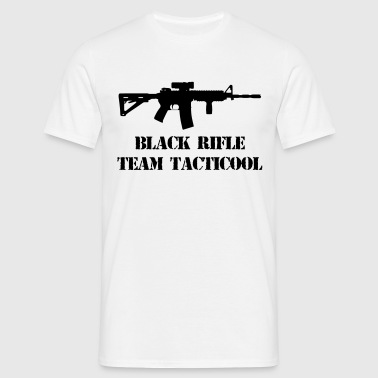black rifle tacticool - Men's T-Shirt