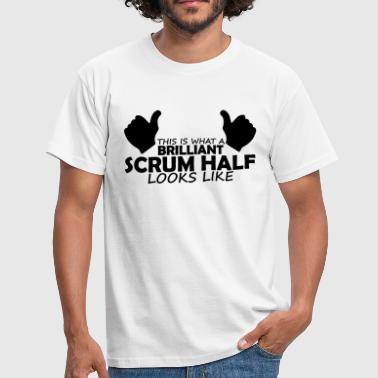 brilliant scrum half - Men's T-Shirt
