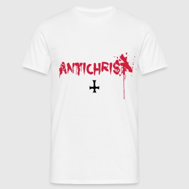 Antichrist - Blood - Herre-T-shirt