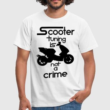 Scooter tuning is not a crime! Vol. III HQ - Männer T-Shirt