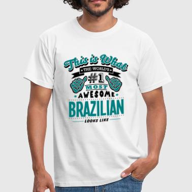 brazilian world no1 most awesome copy - Mannen T-shirt
