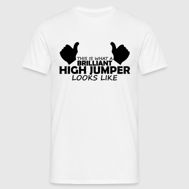 brilliant high jumper - Men's T-Shirt