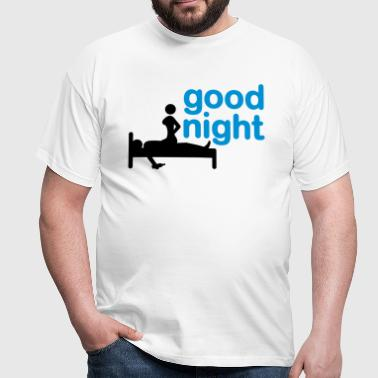 good_night_2c - Men's T-Shirt