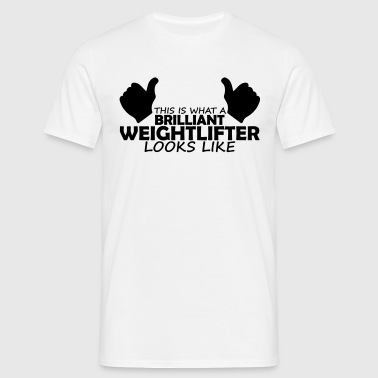 brilliant weightlifter - Men's T-Shirt