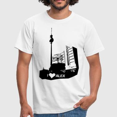 I LOVE Alex in Berlin - Männer T-Shirt