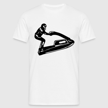jetski jet ski guy - Men's T-Shirt