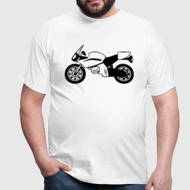 motorcycle sport - Men's T-Shirt