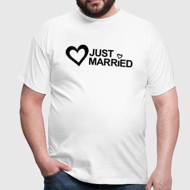 MARRIAGE, MARRIED, MARRIED, honeymoons, LOVE - Men's T-Shirt