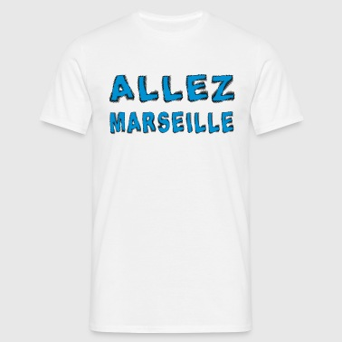 Allez marseille - Men's T-Shirt
