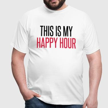 Happy Hour - T-skjorte for menn