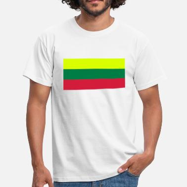 Lithuania lithuania flag - Mannen T-shirt
