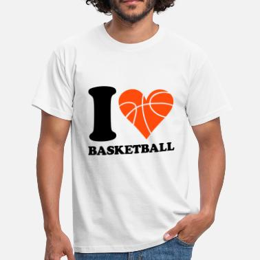 I Love Basketball I love Basketball - Men's T-Shirt
