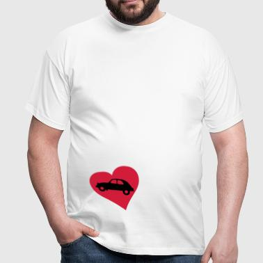 2cv_heart - Men's T-Shirt