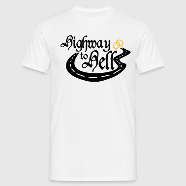 JGA Highway to Hell - Männer T-Shirt