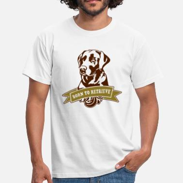 Troja retriever_2c - Mannen T-shirt