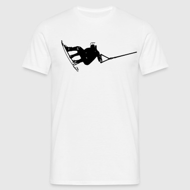 Wakeboarder/Wakeboard summer 2012 - Men's T-Shirt
