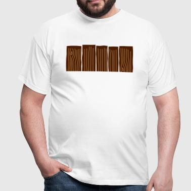 Wood Fence - Men's T-Shirt