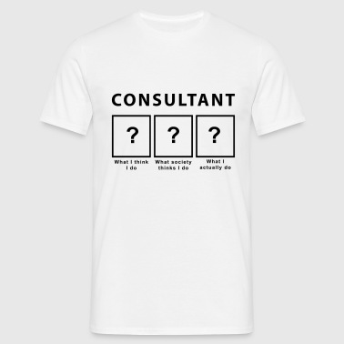 Consultants - T-skjorte for menn
