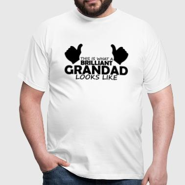 brilliant grandad - Men's T-Shirt