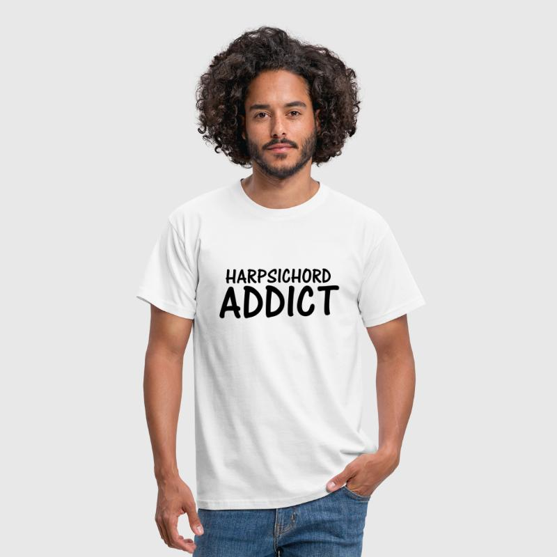 harpsichord addict - Men's T-Shirt