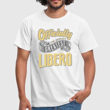 Officially the worlds greatest libero - Men's T-Shirt