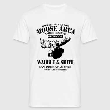Moose Nature Reserve - Herre-T-shirt