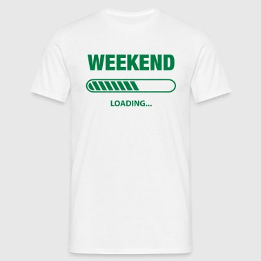 Weekend loading - Männer T-Shirt