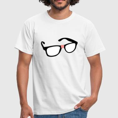 geek glasses - T-shirt Homme
