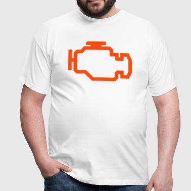 Check Engine Light - Men's T-Shirt
