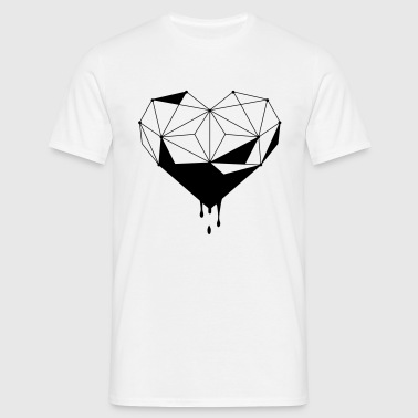 heart concept design - Mannen T-shirt