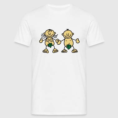 Adam & Eve - Mannen T-shirt