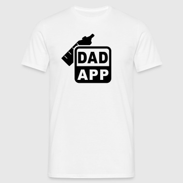 DAD APP - T-skjorte for menn