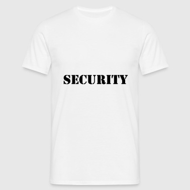 Security - T-shirt Homme