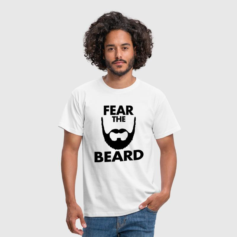 Fear The Beard - Männer T-Shirt