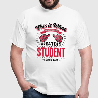 student worlds greatest looks like - Men's T-Shirt