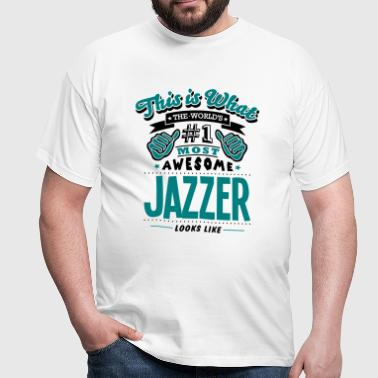 jazzer world no1 most awesome copy - Men's T-Shirt