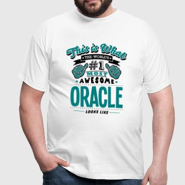 oracle world no1 most awesome copy - T-shirt Homme