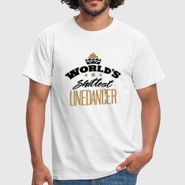 worlds shittest linedancer - T-shirt Homme