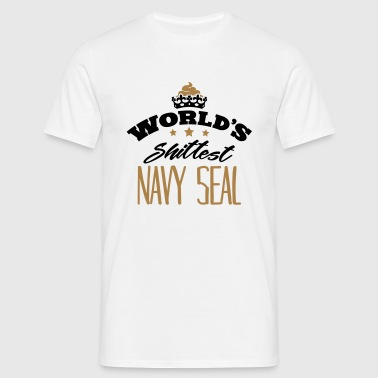 worlds shittest navy seal - T-shirt Homme