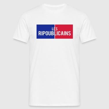 ripoublicains citation politique humour - T-shirt Homme