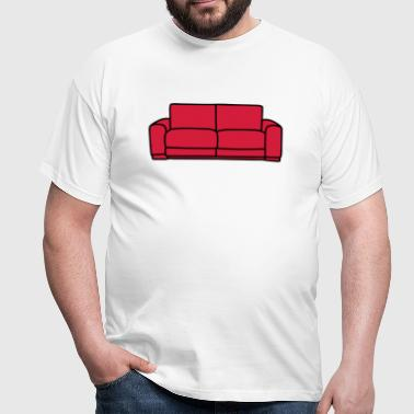 Sofa - Herre-T-shirt