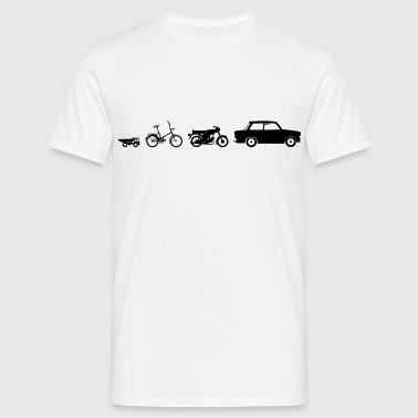 Mobile DDR Evolution  - Men's T-Shirt