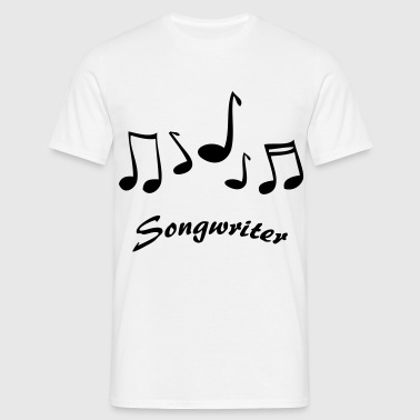 Songwriter - Männer T-Shirt