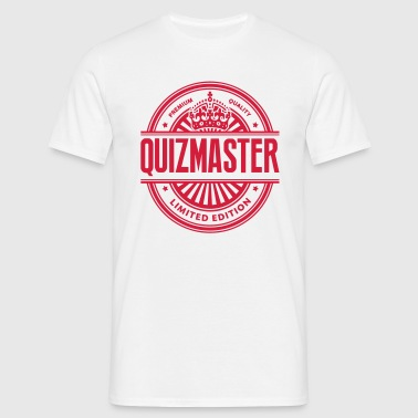 Limited edition quizmaster premium quali - Men's T-Shirt