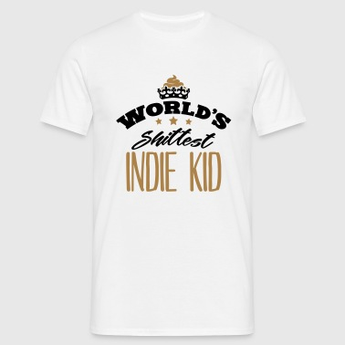 worlds shittest indie kid - Men's T-Shirt