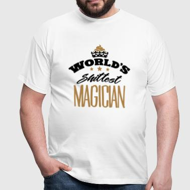 worlds shittest magician - Men's T-Shirt